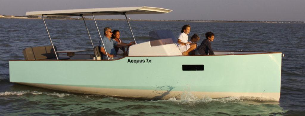 Location bateau électrique et solaire